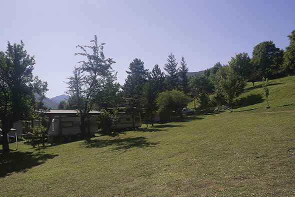 Roulotte - Camping Le Foci