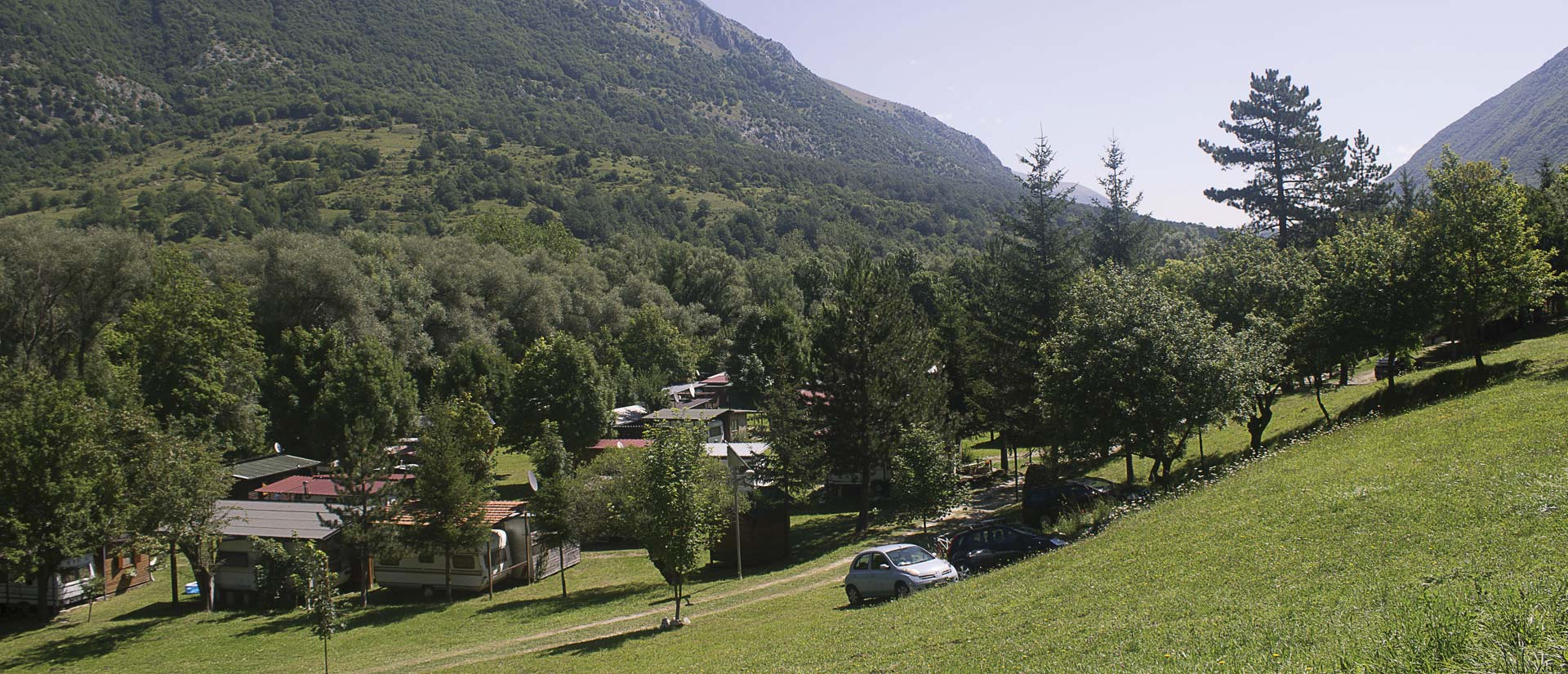 Camping Le Foci - Camping in the National Park of Abruzzo, Lazio and Molise